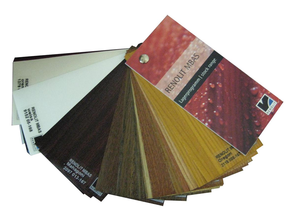 χρωματολόγιο κουτιών pvc